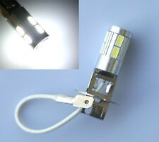 H3 5630 SMD 10 LED Xenon White Driving Fog Head Light Lamp Bulb 12V DC