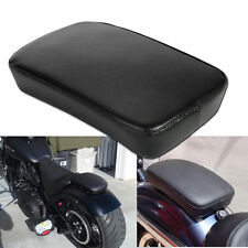 Motorcycle Rear Pillion Passenger Pad Seat for Harley Dyna Sportster XL 1200 883