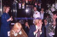 SYLVIE VARTAN JOHNNY HALLYDAY 70s DIAPOSITIVE DE PRESSE ORIGINAL VINTAGE #119