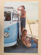 BEACH BOYS ON A VW VAN WITH SURF BOARDS,PHOTO ADRIAN GREEN, AUTHENTIC1996 POSTER