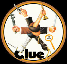 80's Comedy Classic Clue The Movie Poster Art custom tee Any Size Any Color