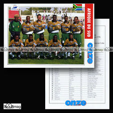 Equipe AFRIQUE DU SUD Bafana Bafana World Cup FRANCE 98 - Fiche Football 1998