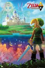 "THE LEGEND OF ZELDA POTER ""A LINK BETWEEN WORLDS""  LICENSED ""BRAND NEW"""
