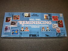 Reminiscing The Board Game for People Who Remember The Beatles  1990 Trivia