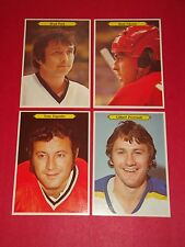 1980-81 O-PEE-CHEE SUPER PHOTO FULL SET 24/24 GRETZKY, LAFLEUR, ESPOSITO +++