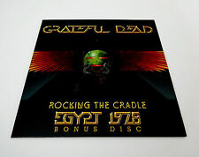 Grateful Dead Egypt 1978 Rocking The Cradle Bonus Disc CD '78 GDP 2008 1-CD New