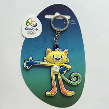 New 2016 Brazil Rio Olympic Games Mascot Key Chain Gift Key Rings Keychain Gift