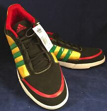Adidas Mosswood Black/Yellow/Red/Green/White Men's US 14