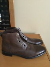 New Banana Republic Brown Leather Ankle Boots Men's Sz 11 M