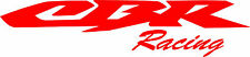 "#267 (2) 8.5"" HONDA CBR Racing CBR600  Stickers Decals Gloss Red Vinyl"