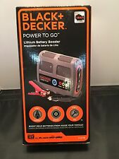 Black & Decker Power To Go Lithium Battery Booster  JUMP BOX - P2G7B