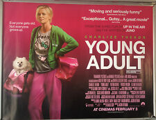 Cinema Poster: YOUNG ADULT 2012 (V2 Quad) Charlize Theron Patrick Wilson