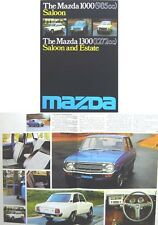 Mazda 1000 & 1300 Familia 1976-77 Original UK Sales Brochure