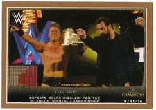 2015 Topps WWE Road to Wrestlemania Bronze #46 The Miz Defeats Dolph Ziggler