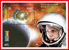 ANTIGUA 2000 FIRST in SPACE - GAGARIN S/S MNH **