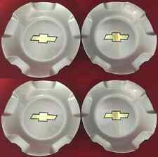 4pcs 07-13 CHEVROLET SILVERADO TAHOE AVALANCHE SUBURBAN WHEEL HUB CENTER CAPS