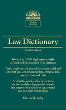 Barron's Law Dictionary: Mass Market Edition (Barron's Legal Guides), Gifis, Ste
