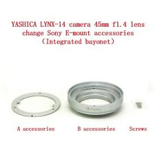 YASHICA LYNX-14 Camera 45mm f1.4 lens self-changing accessory Sony E bayonet