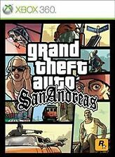 Grand Theft Auto: San Andreas (Microsoft Xbox 360, 2015) Brand New