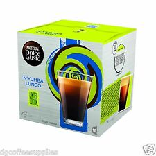 New Dolce Gusto Rare N'Yumba Lungo Coffee Pods 16 in a box 16 Servings UK stock
