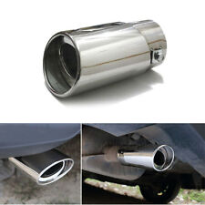 Car SUV Stainless Steel Tail Throat Truck Exhaust Pipes Trim Tips Muffler Pipe