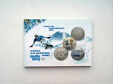 NEW ALBUM FOR RUSSIAN COMMEMORATIVE COINS 25 RUBLES Sochi 2014 Olympic Games
