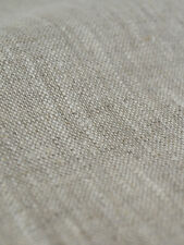 "Natural Linen flax Fabric Light Upholstery Drapery Cloth Width 59"" European ECO"