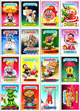 GARBAGE PAIL KIDS 2012 MAGNETS COMPLETE 16-MAGNET CARD SET ADAM BOMB, NASTY NICK