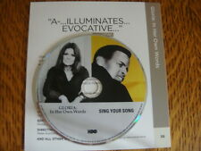 GLORIA IN HER OWN WORDS STEINEM & Sing Your Song HARRY BELAFONTE HBO EMMY DVD