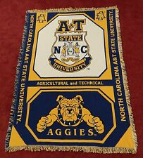NORTH CAROLINA A&T STATE UNIVERSITY Afghan - Throw - Blanket (NCA&T) - Seal