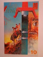 Blood Sword Dynasty MA Wing Shing T Wong A Wan #10 Jademan Comics June 1990 NM