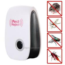 Ultrasonic Electronic Anti Mosquito Pest Rat Insect Cockroach Repeller Reject US