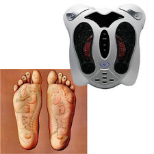 NEW Electromagnetic Wave Pulse Circulation Foot Massager Reflexology Booster