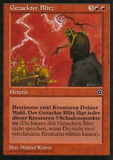 Punte Fulmine/Jagged Lightning | pl | Portal Second Age | Ger | Magic MTG