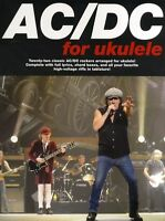 AC/DC Ukulele Songs Tunes Rock Music Book Learn To Play METAL BACK IN BLACK HITS