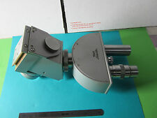 OPTICAL MICROSCOPE HEAD ZETOPAN REICHERT AUSTRIA AS IS PICTURED OPTICS BIN#30