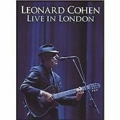 Leonard Cohen - Live in London [DVD] (Live Recording) NEW AND SEALED