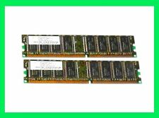 HP 1GB (2X 512K) DDR PC-3200 400Mhz Desktop PC Memory 184Pin NANYA LOW DENS