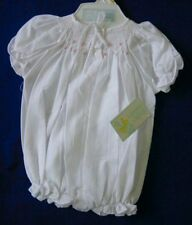 NWT Bailey Babies White Bubble Girls Smocked SALE 6 months