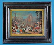 Hans Bol (1534-1593) 'Bethlehemitischer Kindermord' Pergament auf Holz vor 1600