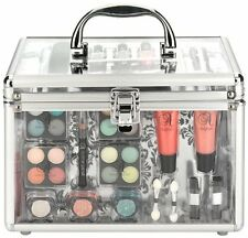 Technic Essentials Clear Carry Case Travel Cosmetic Makeup Case Gift Set Box