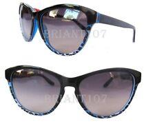 New Just Cavalli JC515S Womens Sunglasses Black-Blue/Purple $140