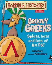 Horrible Histories Groovy Greeks BRAND NEW BOOK by Terry Deary (Paperback, 2014)