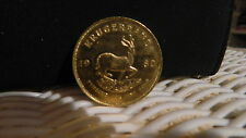 1980 KRUGERRAND SOUTH AFRICA  1 oz GOLD  COIN