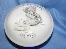 Me To You Bear Porcelain Trinket Box Christening Gift Present New Baby G01C0023
