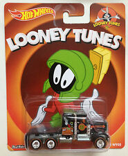 Hot Wheels Pop Culture Looney Tunes Real Rider Kenworth W900 Martian Marvin MOSC