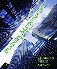 Business Mathematics Brief by Stanley A. Salzman, Gary Clendenen and Charles...