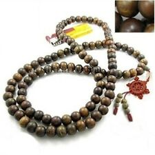 to do 108 12mm Green Sandalwood Prayer Beads Dharma Wheel Mala Necklace -48""