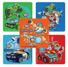 "25 Transformers Rescue Bots Stickers, 2.5""x2.5"" ea., Party Favors"