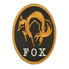 metal gear solid fox hound PS3 PS PS4 xbox embroidered patch VELCRO® brand
